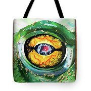 The Hypnotoad Made Me Draw It Tote Bag