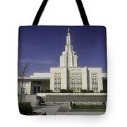 The Idaho Falls Mormon Temple Tote Bag