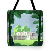 The Ideal House In House And Gardens Tote Bag