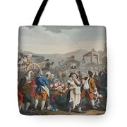 The Idle Prentice Executed At Tyburn Tote Bag