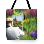 The Impressionist Painter Tote Bag