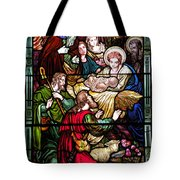 The Incarnation - Madonna And Child Tote Bag