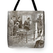 The Indians Declaration Of War Tote Bag