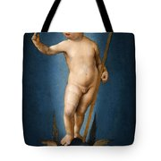 The Infant Christ On The Orb Of The World Tote Bag