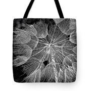 The Inner Weed Monochrome Tote Bag