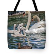 The Insular Family Tote Bag