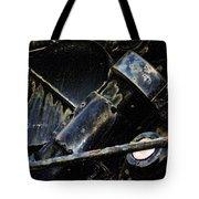 The Internal Parts Abstract Tote Bag