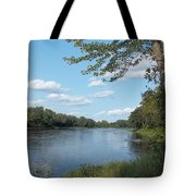 The Intervale On The Piscataquis River Tote Bag