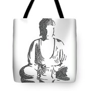 The Intricacies Of The Meditating Buddha Tote Bag