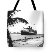 The Iroquois In Biscayne Bay Tote Bag
