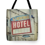 The Irving Hotel In Chicago Tote Bag