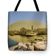 The Islander At Sakonnet Point In Little Compton Rhode Island Tote Bag