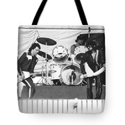 The J. Geils Band Rock Out In Oakland In 1976 Tote Bag
