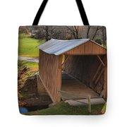 The Jacks Creek Covered Bridge Tote Bag