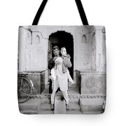 The Jaipur Street Entertainer Tote Bag