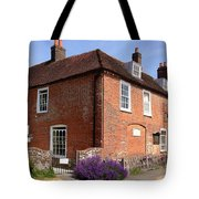 The Jane Austen Home Chawton England Tote Bag