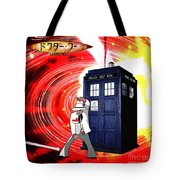 The Japanese Dr. Who Tote Bag