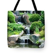 The Japanese Garden Tote Bag by Bill Cannon