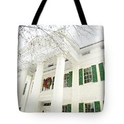 The Jay House At Christmas Tote Bag