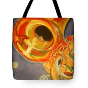The Jazz Horn Tote Bag