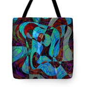 The Jazz Musician Tote Bag