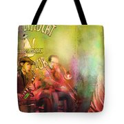 The Jazz Vipers In New Orleans 03 Tote Bag