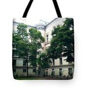 The Jefferson Building Courtyard Tote Bag