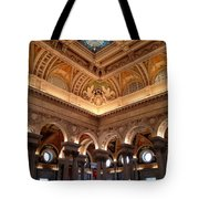 The Jefferson Building Library Of Congress Tote Bag