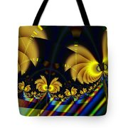 The Jester's Golden Pop-poppies Tote Bag