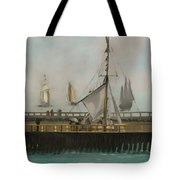 The Jetty Of Boulogne-ser-mer Tote Bag