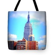 The Jewel Of New York Tote Bag