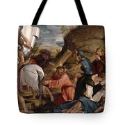 The Journey To Calvary, C.1540 Tote Bag
