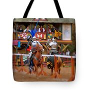 The Jousters 2 Tote Bag