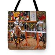 The Jousters 3 Tote Bag