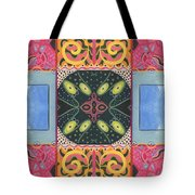 The Joy Of Design I X Arrangement Doors Tote Bag