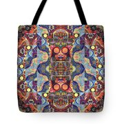 The Joy Of Design Mandala Series Puzzle 1 Arrangement 5 Tote Bag