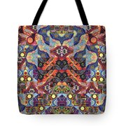 The Joy Of Design Mandala Series Puzzle 1 Arrangement 9 Tote Bag