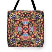 The Joy Of Design Mandala Series Puzzle 2 Arrangement 1 Tote Bag