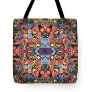 The Joy Of Design Mandala Series Puzzle 2 Arrangement 9 Tote Bag