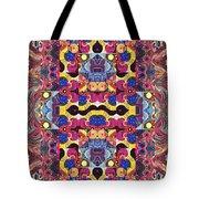 The Joy Of Design Mandala Series Puzzle 3 Arrangement 4 Tote Bag