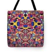 The Joy Of Design Mandala Series Puzzle 3 Arrangement 6 Tote Bag