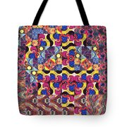The Joy Of Design Mandala Series Puzzle 3 Arrangement 8 Tote Bag
