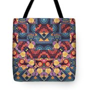 The Joy Of Design Mandala Series Puzzle 5 Arrangement 1 Tote Bag