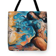 On The Edge Of Dreams Tote Bag