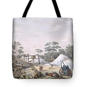 The Kapunda Copper Mine, From South Tote Bag