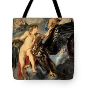 The Kidnapping Of Ganymede Tote Bag