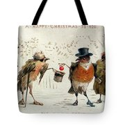 The Kindly Robin Tote Bag