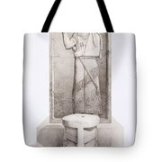 The King And Sacrificial Altar, Nimrud Tote Bag