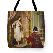 The King And The Beggar-maid Tote Bag