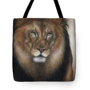 The King Grows Weary  Tote Bag